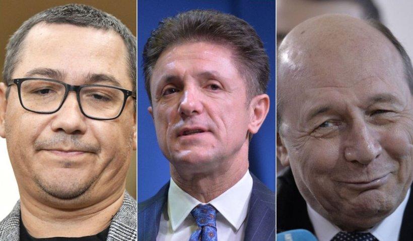 """Victor Ponta i-a cerut lui Băsescu să îl graţieze pe Gică Popescu: """"Ştiţi cine erau ăia care săreau?"""""""
