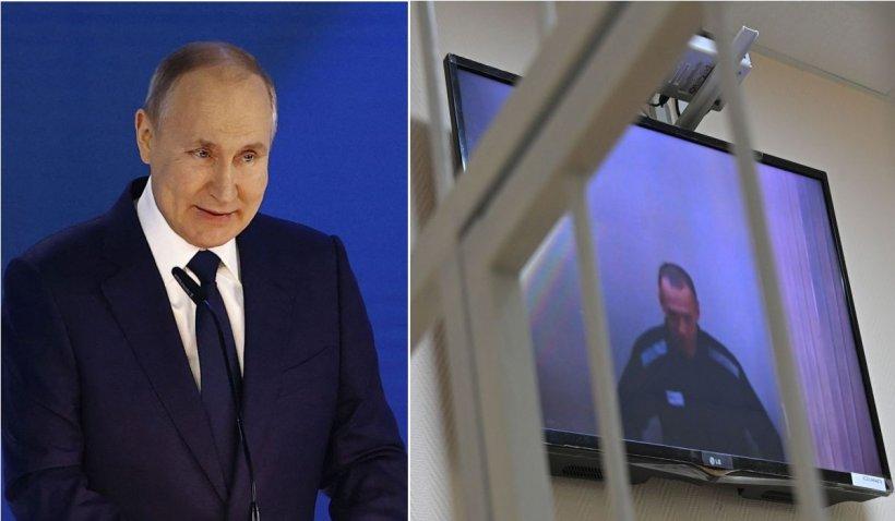 Putin nu garantează că Navalnîi mai iese viu din închisoare