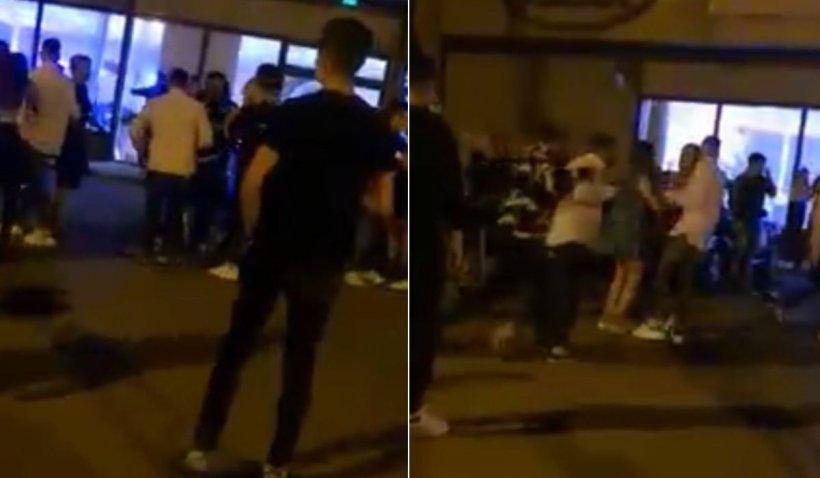 Bătaie generală la un majorat din Slatina, după ce un tânăr neinvitat a vrut să strice petrecerea