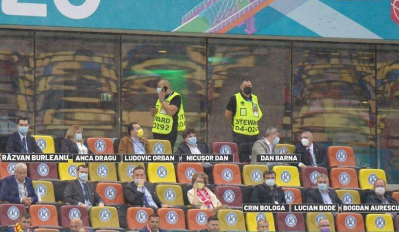 """Gabi Balint, reacție în cazul legendelor fotbalului așezate în tribuna a doua la Euro2020: """"Un act jenant"""""""