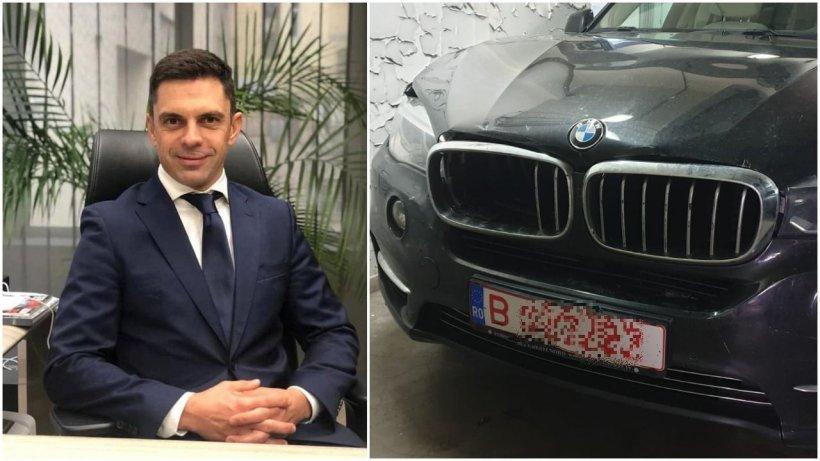 Ministrul Eduard Novak, accident cu maşina Ministerului