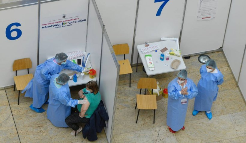 România a cerut cu 5 milioane de doze de vaccin mai puțin, iar în 11 centre activitatea va fi sistată