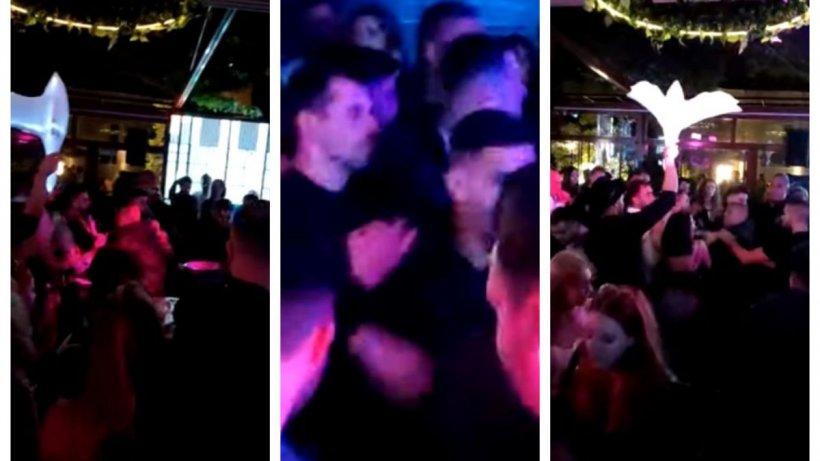 Bătaie pe ritmuri de manele, într-un club din Iaşi, între români şi arabi, după ce o tânără a fost pipăită la baie