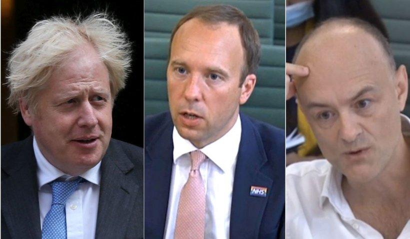 """""""Distrus, fără speranță"""". Sunt cuvintele premierului britanic Boris Johnson la adresa ministrului sănătății, potrivit dezvăluirilor unui fost consilier"""