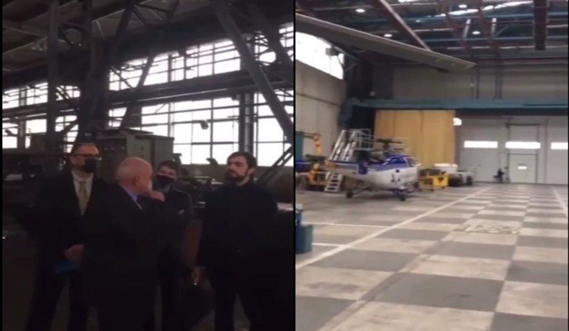Claudiu Năsui, filmare controversată într-o fabrică de armament. Purtătorul de cuvânt susține că ministrul Economiei nu a provocat un incident de securitate națională