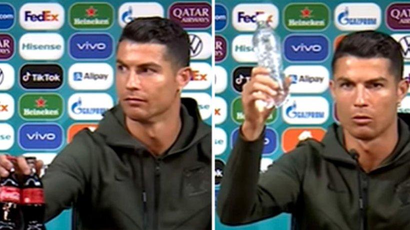 Gestul lui Cristiano Ronaldo de la EURO 2020 a dus la o pierdere de 4 miliarde de dolari pentru Coca-Cola