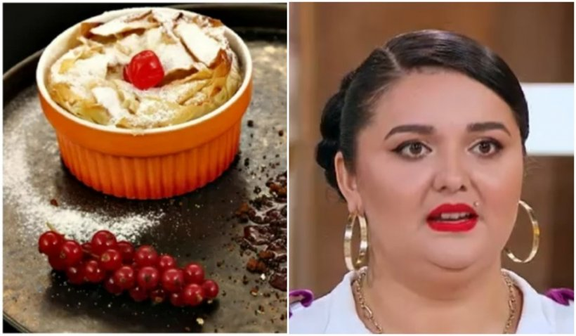 """""""Prăjitura lui mamaie"""", reţeta cu care Narcisa Birjaru a făcut senzație la Chefi la cuțite"""