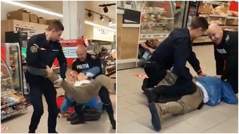 Cuţitarul prins cu greu de poliţiştii din Sibiu a fost lăsat în libertate