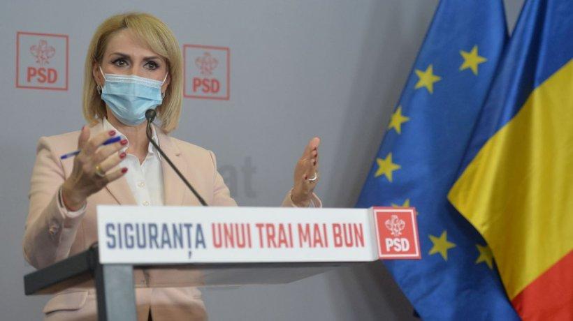"""Gabriela Firea: """"Viitorul românilor este în pericol! Majoritatea PNL și USR-PLUS continuăsă blocheze aceste proiecte!"""""""