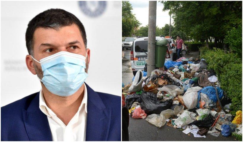 """Octavian Berceanu, în scandalul gunoaielor din Sectorul 1: """"Vine căldura, iar aceste deșeuri devin un focar de infecție"""""""