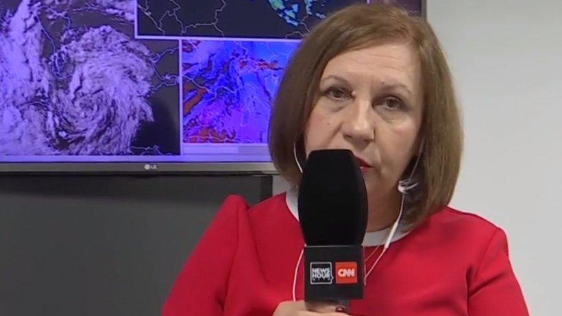 Ce se întâmplă cu ciclonul din Marea Neagră şi cât va mai ploua. Anunţul făcut de Elena Mateescu, director ANM