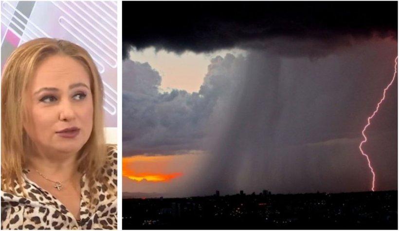 """Astrologul Cristina Demetrescu, despre ciclon şi fenomenele extreme: """"Au legătură cu eclipsele. Lucrurile sunt în mişcare"""""""
