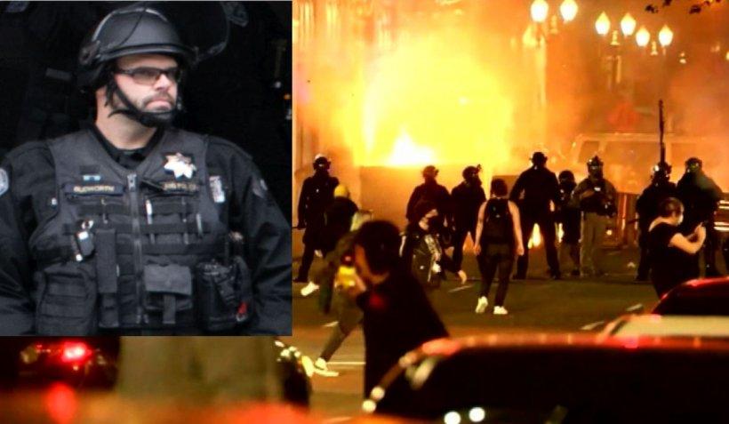 Un oraș din SUA rămâne fără poliție anti-revoltă, după ce un membru al unității a fost pus sub acuzare pentru că a lovit un fotograf