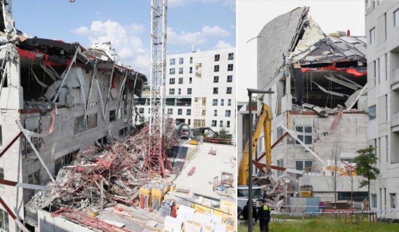 Un muncitor român a murit strivit sub dărâmături, împreună cu alți doi colegi de șantier, după ce o clădire s-a prăbușit în Belgia