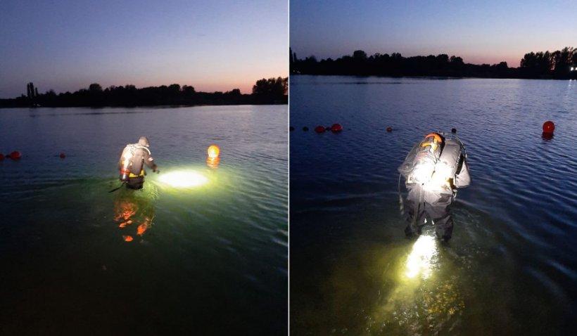 Un tânăr de 19 ani a murit înecat într-un lac din Arad, după ce a sărit de pe hidrobicicletă