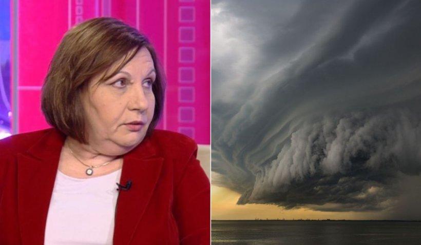 Elena Mateescu, directorul ANM, prognoza meteo pentru săptămâna 21-27 iunie 2021