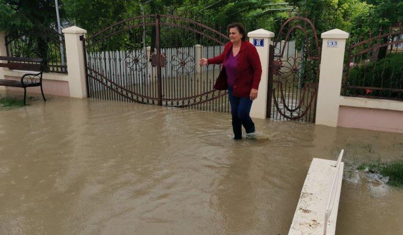 Pericol mare de inundații la Galați, este Cod roșu pe mai multe râuri