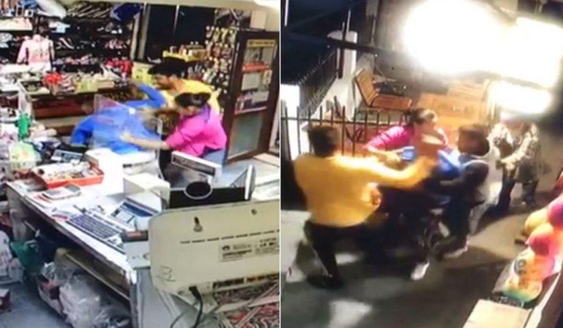 """Bărbat din Răcoasa, bătut cu sălbăticie de doi tineri într-un magazin: """"Am sunat degeba la 112"""""""