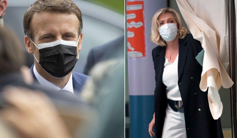 Vremuri grele pentru Emmanuel Macron după primul tur al alegerilor regionale, în Franța. Partidul lui Le Pen, rezultate dezamăgitoare