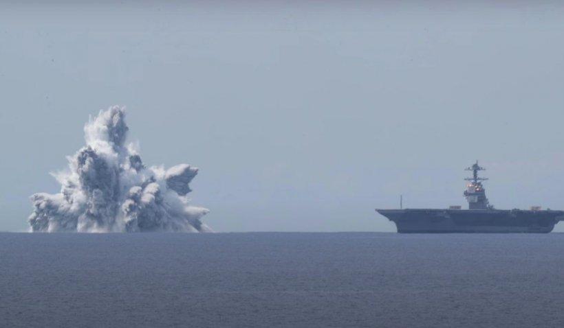 SUA și-au supus cea mai scumpă navă de război la energia distructivă a unui cutremur de 4 grade Richter