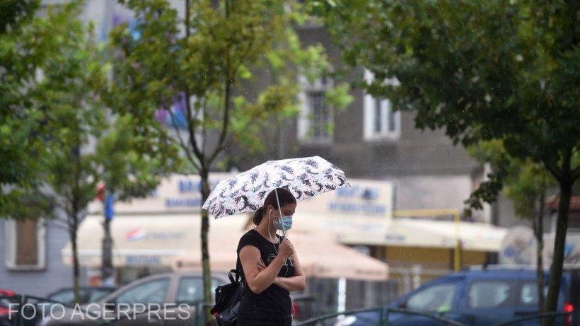 Prognoză specială pentru București, 21 iunie 2021: Ploi, vreme caniculară și disconfort termic