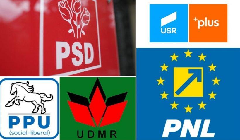 Sondaj de ultimă oră. PSD, avans considerabil față de PNL