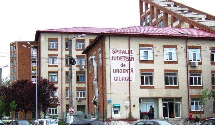 """Un bărbat internat la Spitalul Județean Giurgiu a murit, după ce s-a aruncat de la etajul trei al clădirii: """"A rupt geamul"""""""