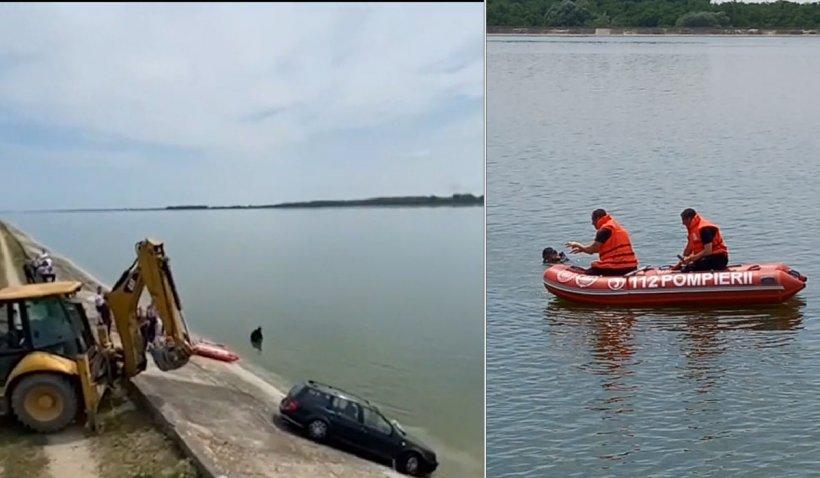 Un bărbat a murit după ce a plonjat cu maşina în râul Olt