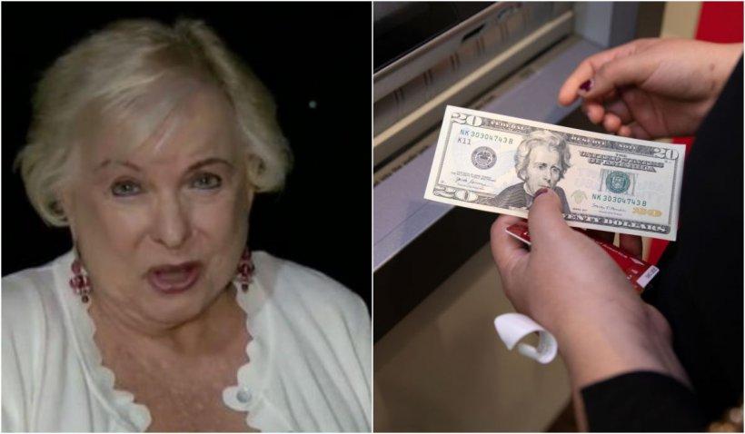 O femeie s-a dus la bancomat să scoată 20 de dolari și a descoperit că avea un miliard în cont
