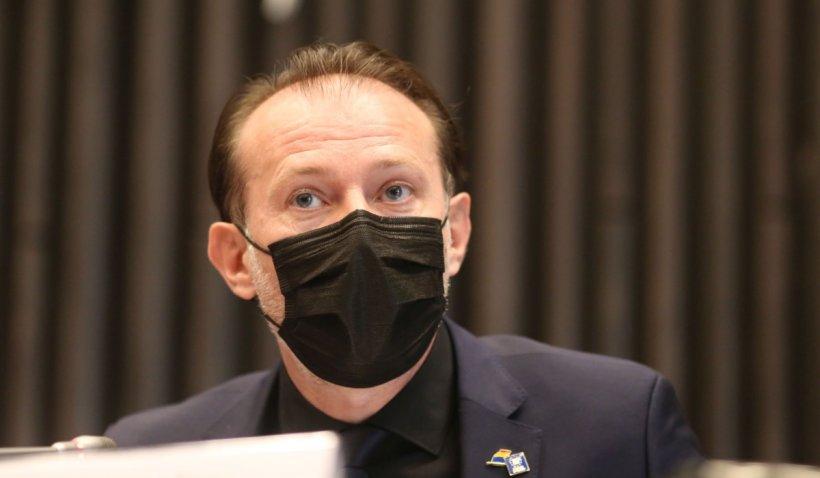 """Florin Cîțu: """"Alocațiile vor crește cu 20% la 1 ianuarie 2022. Parlamentul nu și-a făcut treaba"""""""