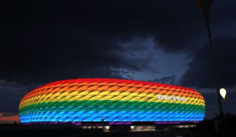 Germanii vor să îi irite pe unguri și să își coloreze stadionul în culorile LGBTQ+, înainte de meciul dintre cele două reprezentative