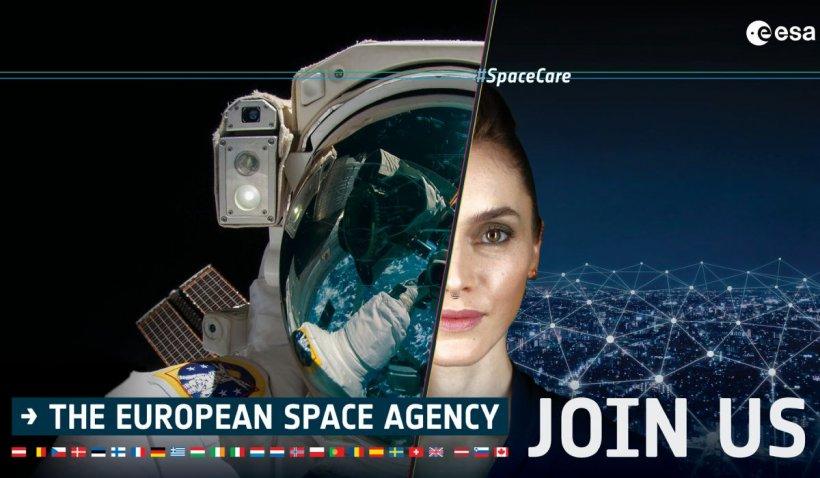 255 de români candidează la un post de astronaut ESA. Peste 22.000 de candidați la nivel european