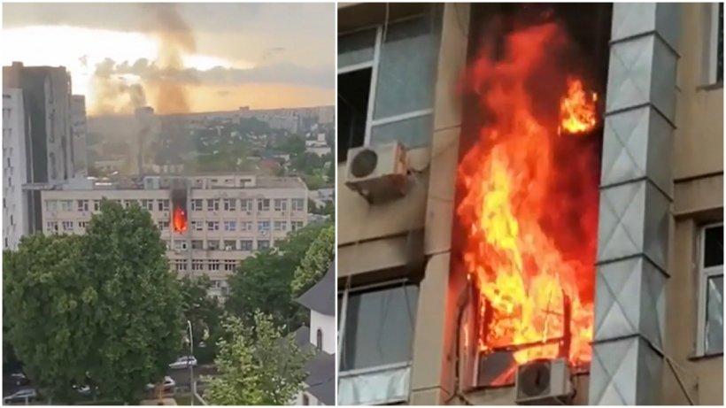 """Asistentele medicale, eroinele incendiului de la Spitalul Clinic de Urgență pentru Copii """"Sfânta Maria"""""""