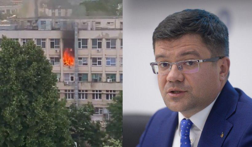 """Costel Alexe, după incendiul de la spitalul de copii din Iași: """"Nu știm pe unde este instalația electrică"""""""
