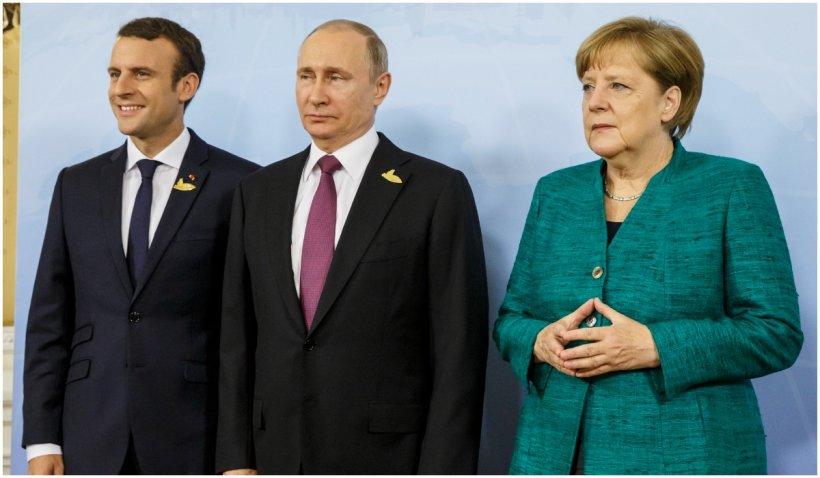 Franţa şi Germania discută posibilitatea unui summit UE cu preşedintele rus Vladimir Putin