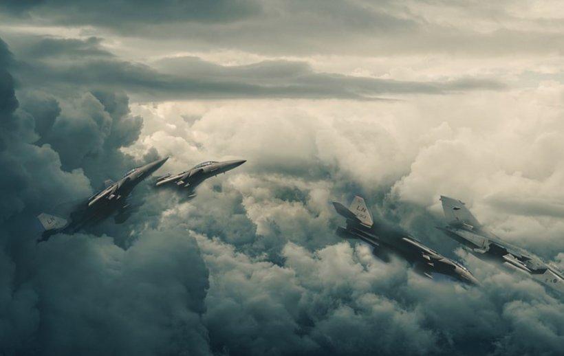 Avioane de vânătoare rusești, interceptate în timp ce intrau în spațiul aerian al României