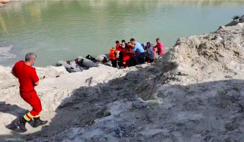 Copil înecat lângă o balastieră, la Gura Vitioarei: Tocmai susținuse examenul la matematică, la Evaluarea Națională