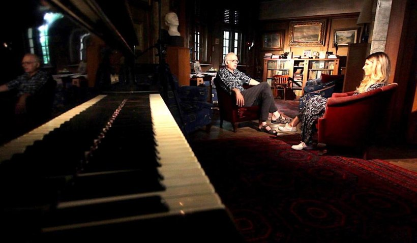 Povestea casei în formă de pian din Cotroceni. Dintr-o iubire rară s-a născut o casă unică în București