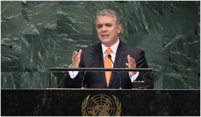 Recompensă de 795.000 de dolari pentru prinderea celui care a tras în elicopterul preşedintelui columbian Ivan Duque