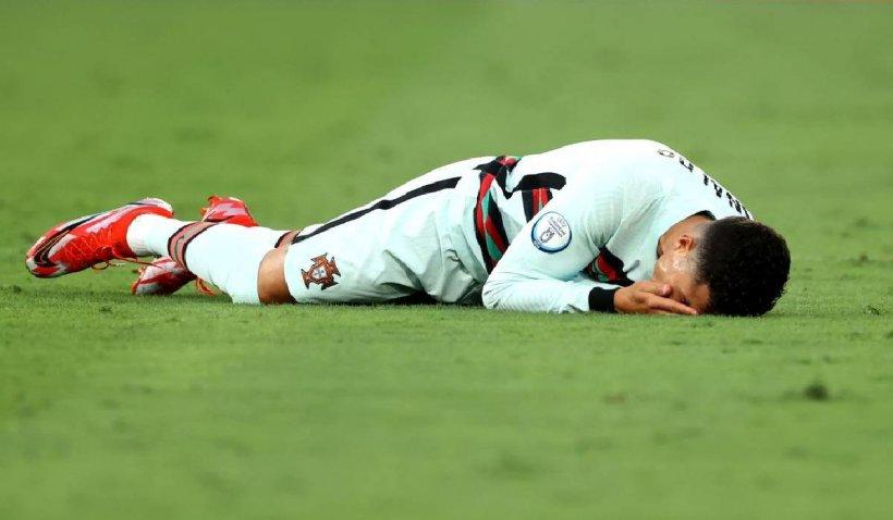 Reacția furioasă a lui Cristiano Ronaldo după eliminarea de la EURO 2020
