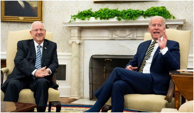 Preşedintele Joe Biden s-a întâlnit cu omologul israelian Reuven Rivlin la Casa Albă
