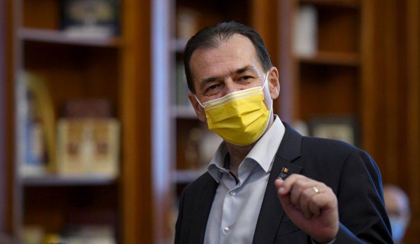 Ludovic Orban recunoaște că nu a votat Legea prin care românii vaccinați anti-COVID vor primi zile libere