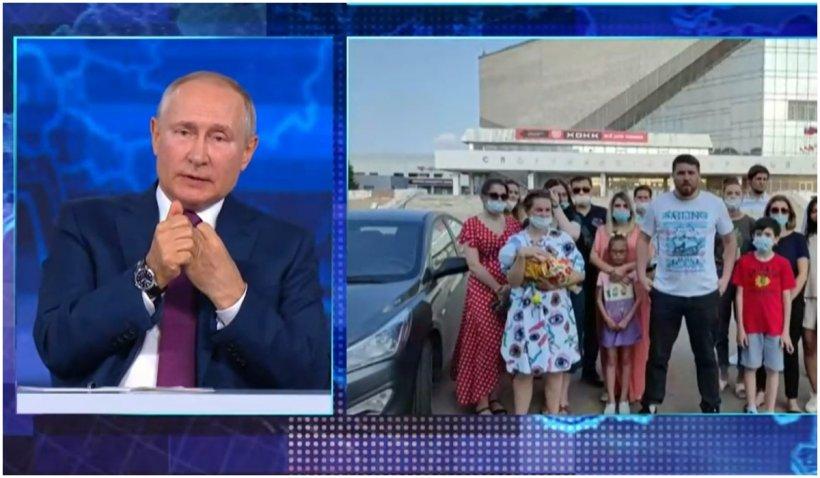 Linia directă a lui Vladimir Putin a fost atacată de hackeri
