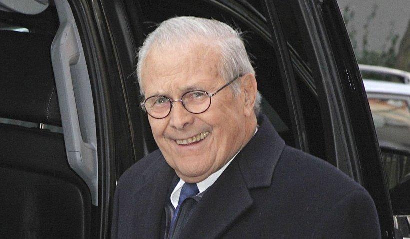 A murit Donald Rumsfeld, considerat arhitectul războiului din Irak și susținător al campaniei din Afganistan