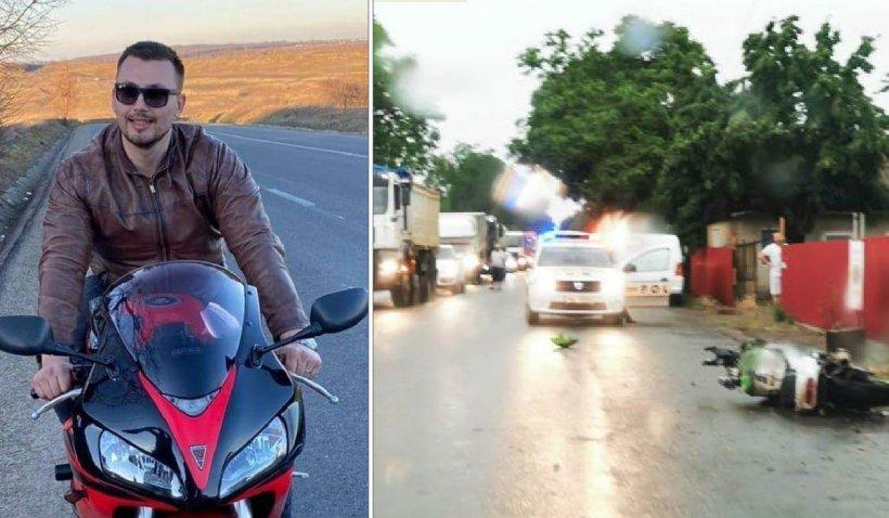 Un tânăr de 27 de ani a murit după ce s-a izbit cu motocicleta de o maşină condusă chiar de unchiul său