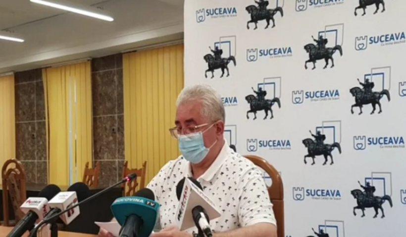 """Primarul Sucevei crede că procesiunea cu moaște a contribuit la scăderea incidenței cazurilor COVID-19 în județ: """"Dumnezeu lucrează prin oameni"""""""