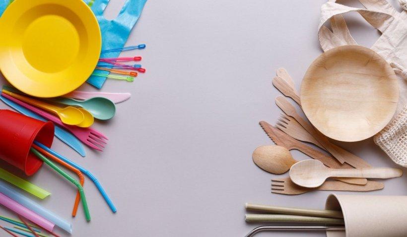 De astăzi nu se mai vând obiecte de unică folosință din plastic. Directiva UE a intrat oficial în vigoare