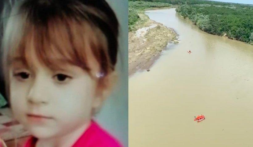 Raisa, fetița de 5 ani dispărută de acasă, a fost găsită moartă în râul Buzău: A fost recunoscută după pantalonașii roșii