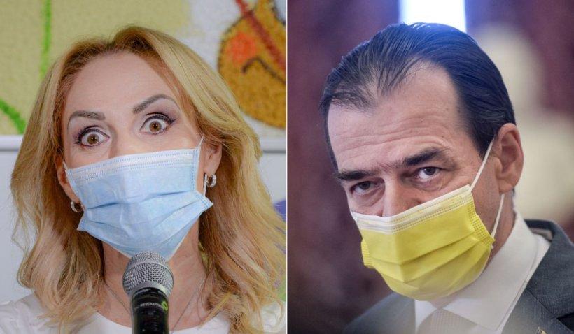 """Gabriela Firea, despre Orban: """"Un om cinic, mărunt politic, dar care s-a cocoțat prin șobolăneli în funcții mari"""""""