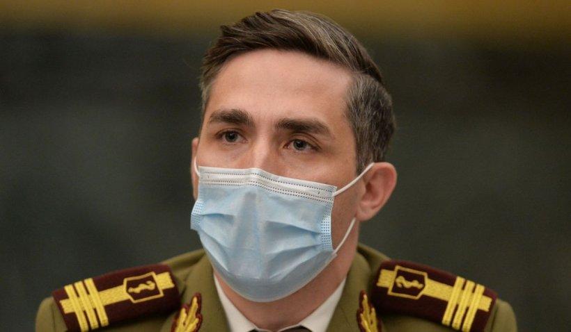 """Valeriu Gheorghiță: """"80% din centrele de vaccinare imunizează puțin sau deloc"""""""